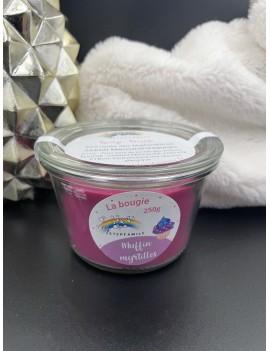 Bougie (parfum au choix) 250g